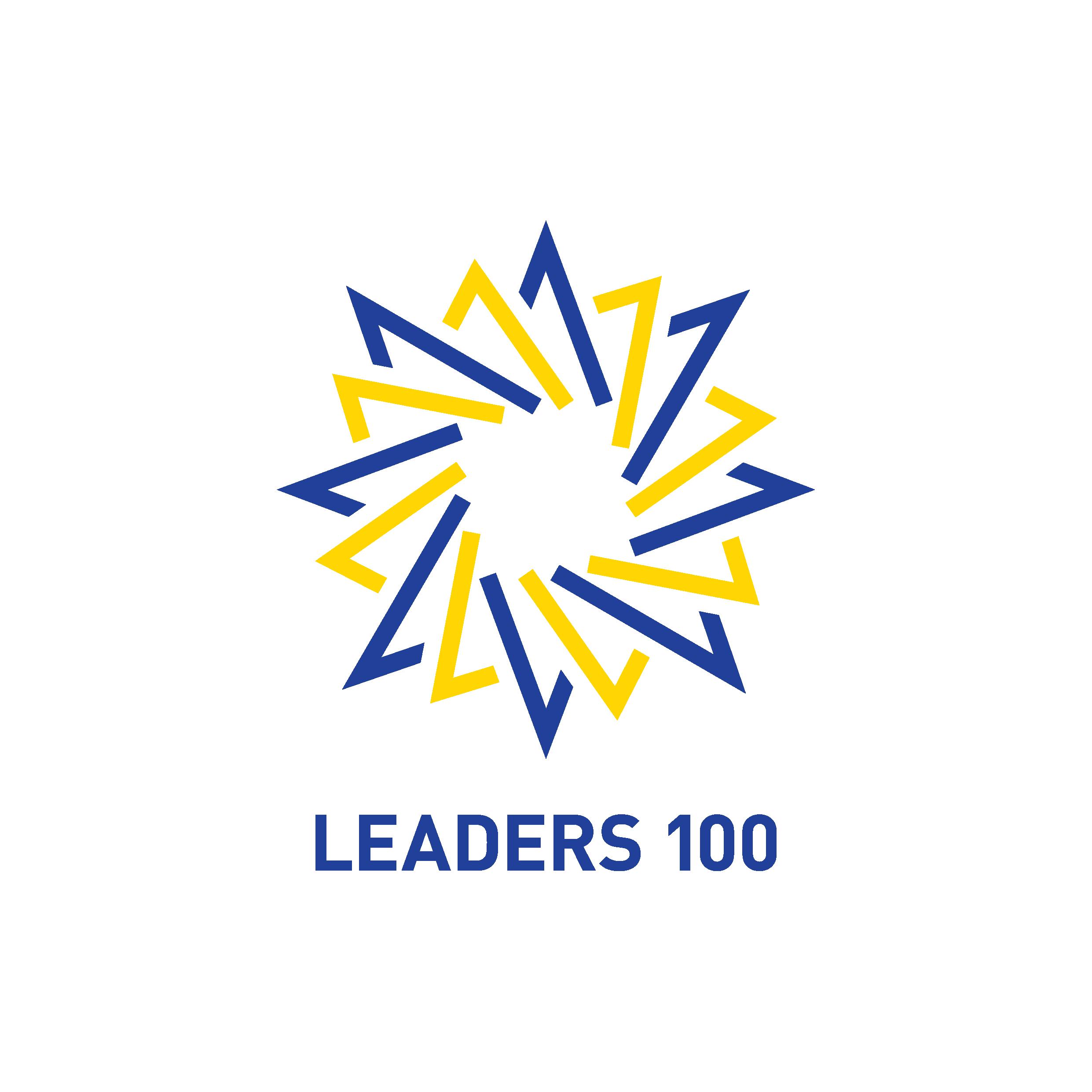 領袖 100 Logo